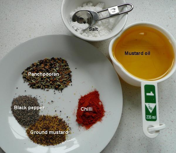 Lemon Pickle - 3, A Quick Microwave Method