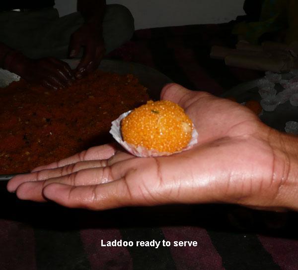 Boondi Laddoo Sweet Balls