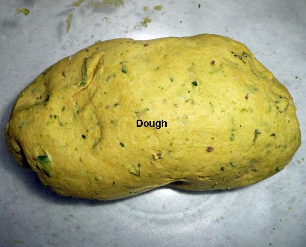 Yellow Roti or Chapatti