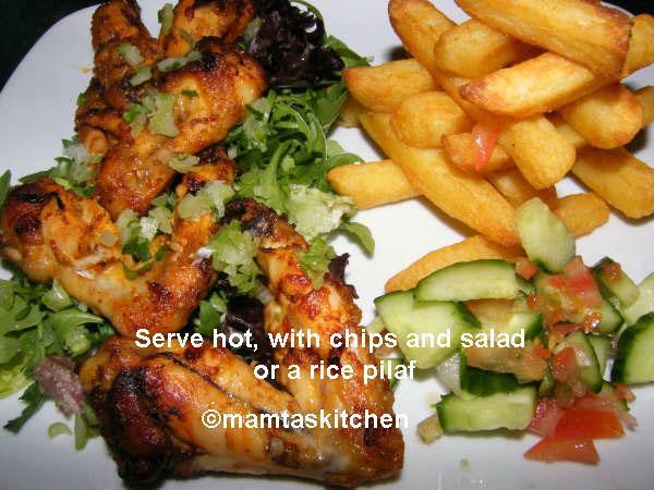 Hot Spicy Chicken Wings (bulk version)