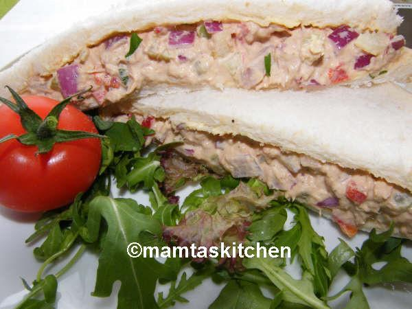 Tuna & Mayonnaise Crunchy Sandwich