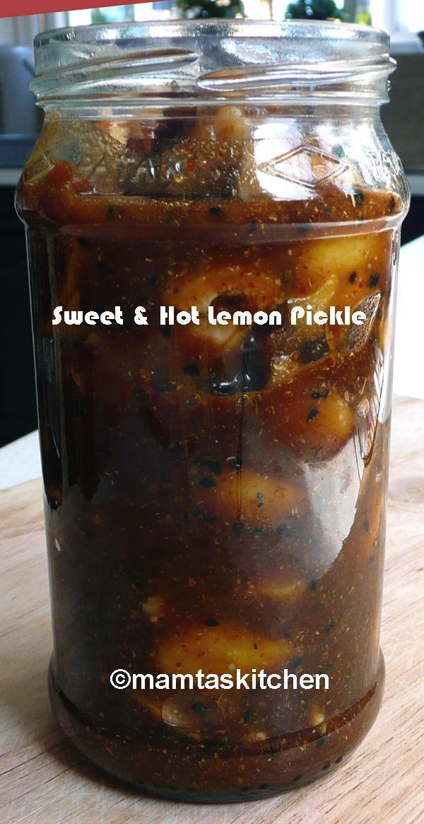 Lemon Pickle - 9, A Quick Microwave Method