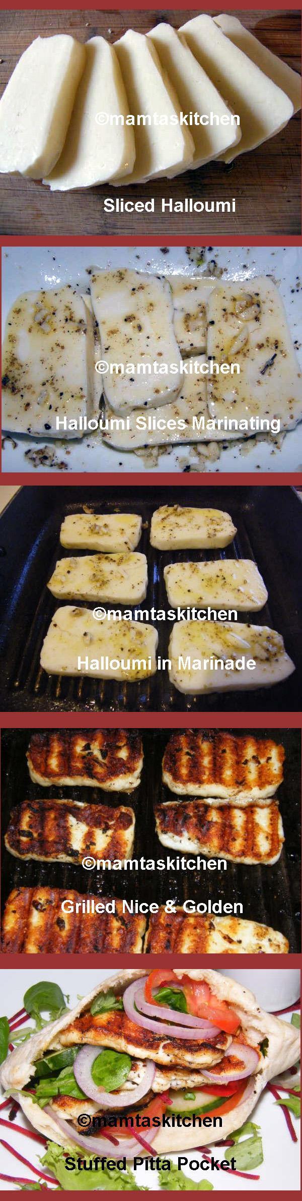 Halloumi Kebab Sandwich