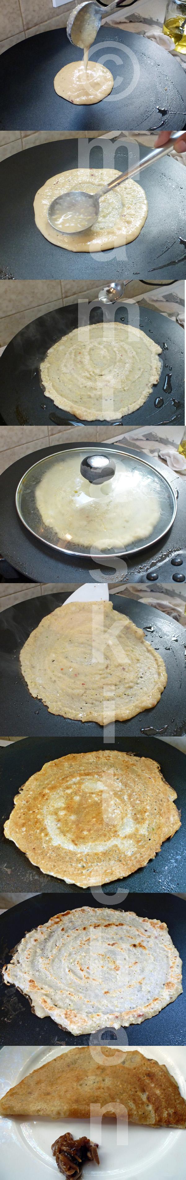 Mung Dal (Green Gram) Savoury Chilla Pancakes 1