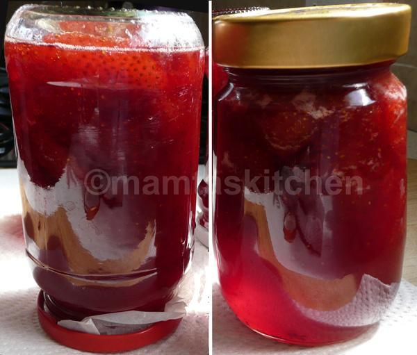 Strawberry Jam, Traditional Recipe