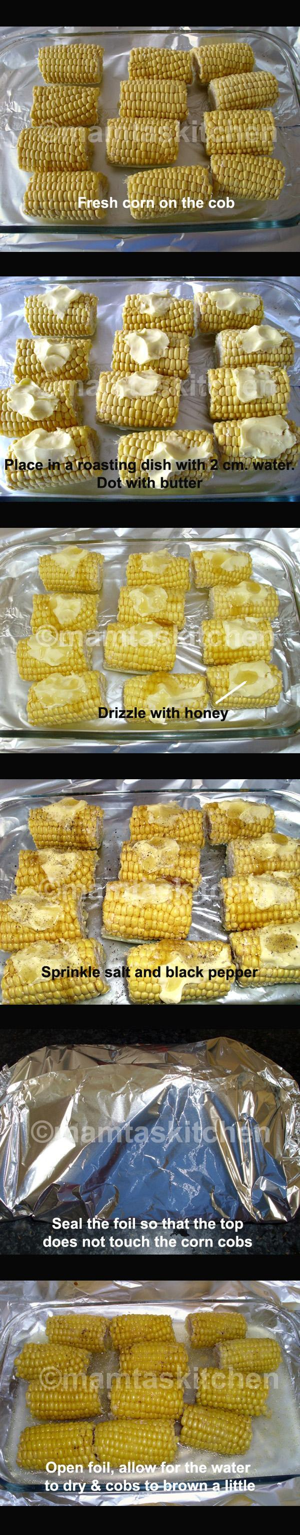 Corn on the Cob 2 - Oven Cooked