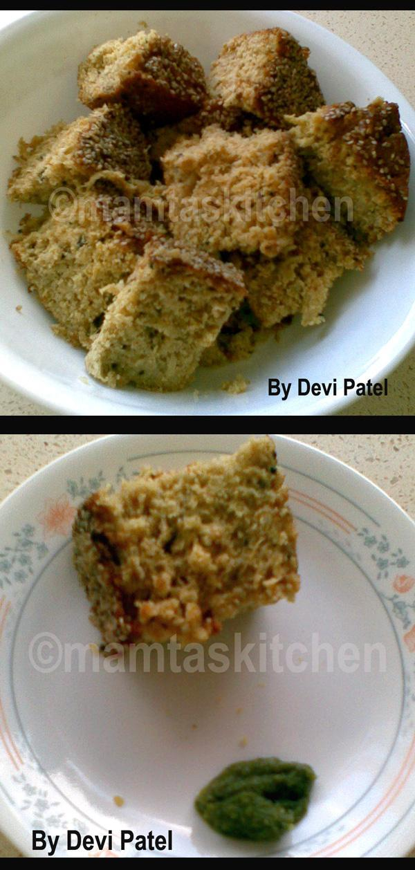 Handvo (Handwa or Ondhvo), a Gujrati Savoury Cake