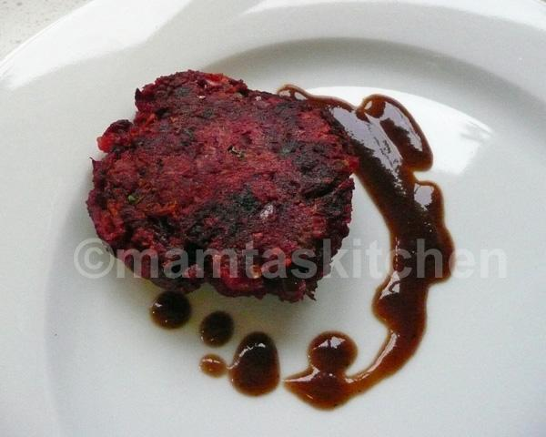 Beetroot Cutlets (Burgers)