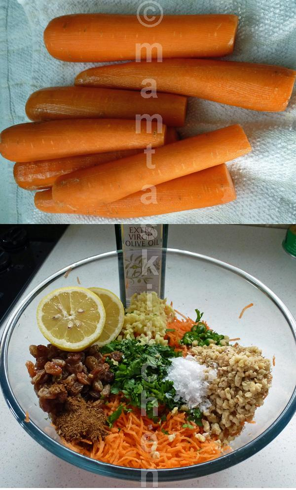 Spicy Carrot Salad 1
