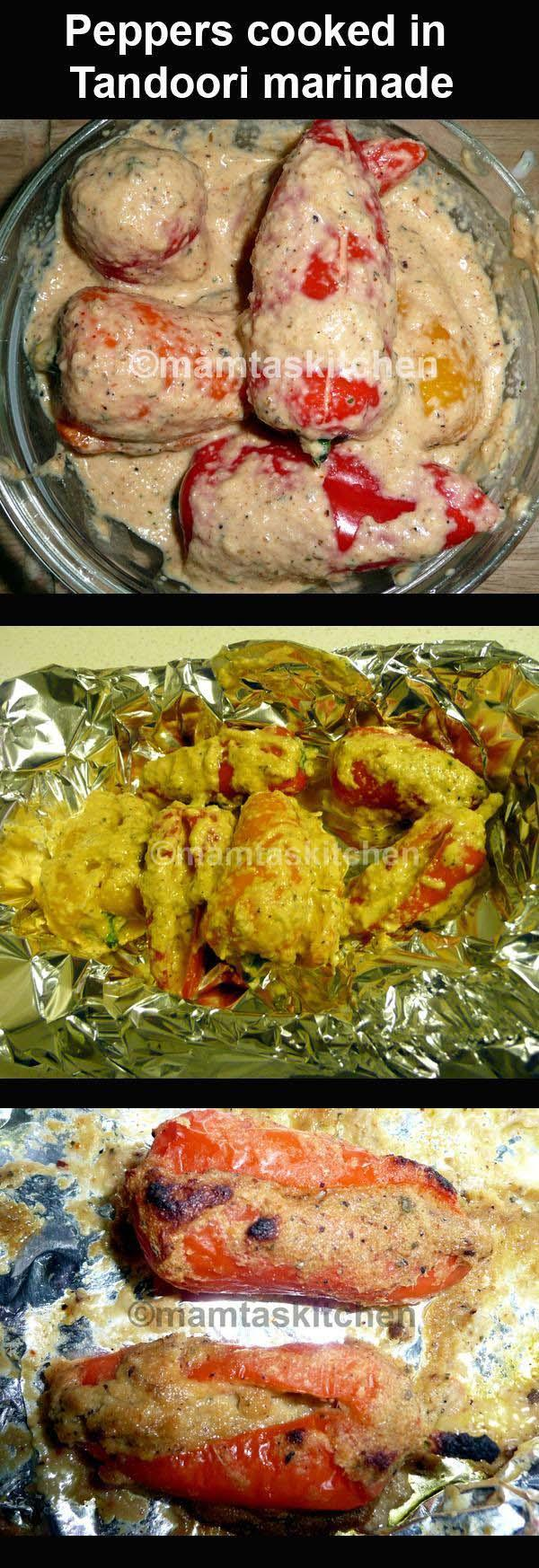 Tandoori Peppers or Other Vegetables
