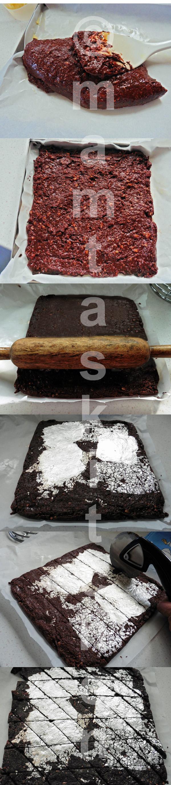 Chocolate Burfi - A Quick Version