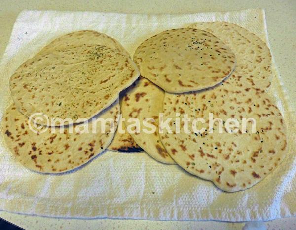 Kulcha 1 Indian Leavened Soda Bread