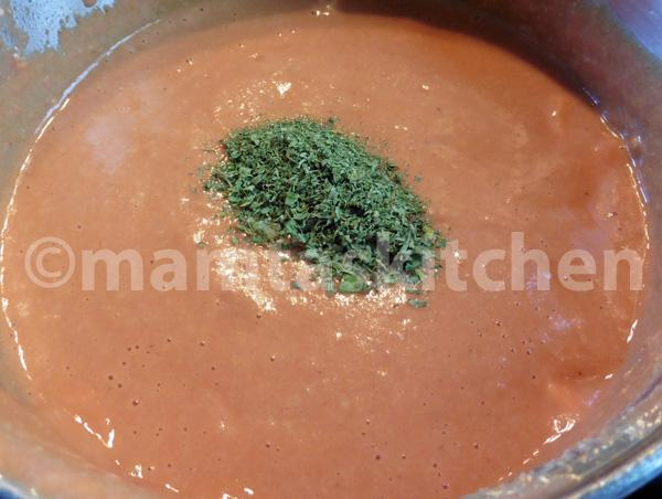 Basic Curry Sauce 5, Creamy With Cashew Nuts