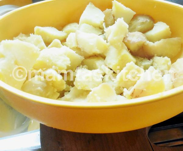 Alu Matar-Potato & Peas Curry Onion Free